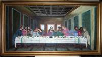 Religion - The Last Supper - Oil On Canvas
