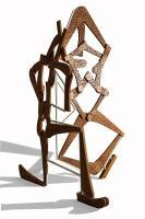 Sculpture - Figure Skaters - Wood