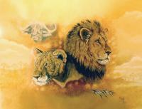 Wildlife - My African Dream - Acrylic On Canvas Board