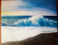 Seascapes - Old Friend - Oil Paint On Canvas