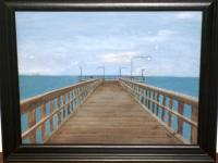 Sold - The Pier - Acrylic