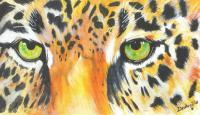 Animal Eyes - Jaguar Eyes - Acrylic