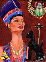 People And Deities - A Touch Of Egypt - Acrylic