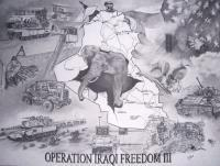 Drawings - Operation Iraqi Freedom III - Pencil  Paper