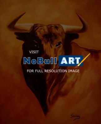 Sold - El Toro - Oil On Streched Canvas