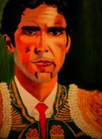 Portrait - Jose Tomas - Oil  Imposto On Streched Canva