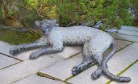 Cement - Siamese Cat - Cement Steel Glass