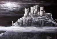 Places - Castle In The Sky - Acrylic On Canvas
