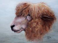 Wildlife - Bad Hair Day - Acrylic On Canvas