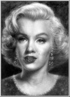 Portraits - Early Marilyn - Graphite