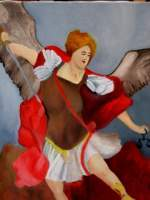 Amateurpainter - St Michael - Oil On Canvas
