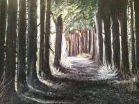 The Path - Acrylic Paintings - By Helen Holder, Nature Painting Artist