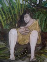 Women In Distress And The Myth - Lost - Oil