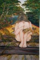 Women In Distress And The Myth - Where To Go - Oil