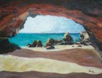 Wild Life - Bridge By The Sea - Oil