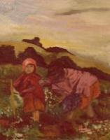 Wild Life - The Andes Peasant - Oil
