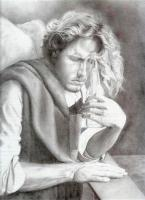 Classic - Surfers Angel - Pencil