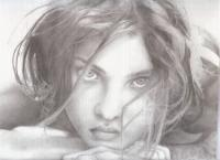 Pearl Of Great Price - Pencil Drawings - By Linda Mason, Classic Black And White Drawing Artist