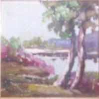 Landscapes - Lake Scene - Oil