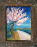 Landscape - Dancing Almond Wd - Oil