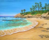 Seascapes - Early Morning Laguna - Acrylic On Canvas