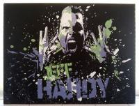 Some Of My Canvas Artwork - Jeff Hardy Wrestler - Acrylics
