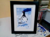 Wildlife - Willow Grouse - Watercolour