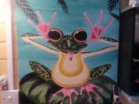 Fun - Cheeky Frog - Acrylic