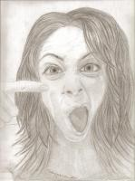 Funny Face - Oh No What Is That - Pencil  Paper