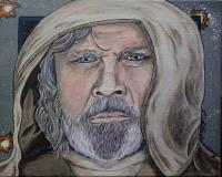 Celebrities - Mark Hamill As Luke Skywalker - Acrylics