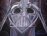 Celebrities - Darth Vader - Acrylics