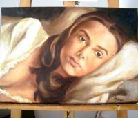 Portrait - Keira Knightley - Oil On Canvas