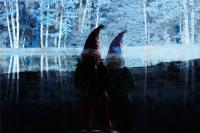Digital Compositions - Winter Gnomes - Photographic Composition