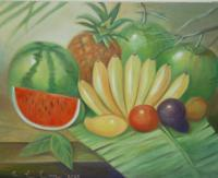 Still Life - Philippine Fruits - Oil Paint