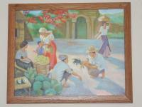 Paintings - Reproduction Of Amorsolo - Oil Paint