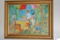 Paintings - Philippine Scene Sorbetero - Oil Paint