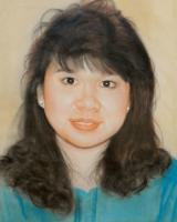 Portrait - Pastel Portrait Drawing - Pastel Chalk