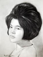 Portrait - Charcoal  Pencil Portrait Drawing - Charcoal Pencil