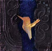 Bird 1414 - Mixed Media Mixed Media - By Karen Williams, Interpretive Mixed Media Artist