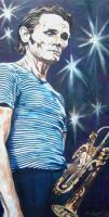 Artists Collection - Chet Baker - Oils On Canvas