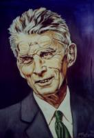 Private - Samuel Beckett - Oils On Canvas