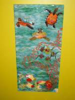 Under The Sea - Mosaic Glasswork - By Haley Alcock, Direct Method Mosaics Glasswork Artist