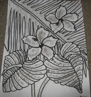 Eeman Art Gallery - Tropical Meeting Place - Indian Ink