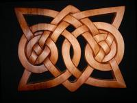 Celtic - Viking Ornament Plaque - Western Red Cedar