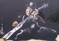 Rock And Roll - Bo Didley - Oil On Canvas
