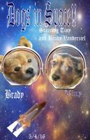 Dog Collage - Dogs In Space - Photoshop