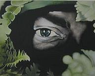 Outdoor - All Seeing Eye - Oil On Canvas