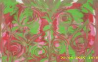 Acrylic Paintings - Come Into The Flower Garden - Acrylic