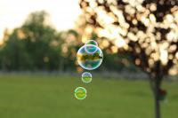 Blowing Bubbles To Our Childhood - Digital Photography - By Noah Balliet, Still Life Photography Artist