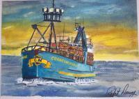 Available - The Fv Cornelia Marie - Watercolor